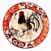 Блюдо круглое плоское 38см «Лильский Петух»