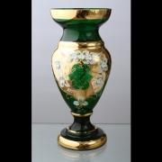 Ваза для цветов «Лепка зеленая» 43 см.