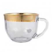 Набор для чая на 6 перс. «Матовое Золото»