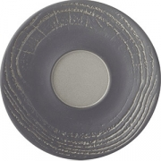 Блюдце для стакана 180мл «Арборесценс» D=16см; черный, серый