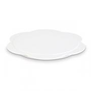 Блюдо фуршетное D=235, H=15мм; белый