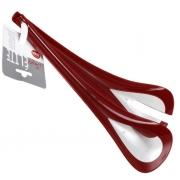 Приборы для сервировки салата 2 пр пластиковые красные