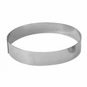 Кольцо кондитерское, сталь нерж., D=280,H=45мм, металлич.