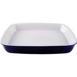 Блюдо для запек. прямоуг. синее 30.5*25.5с