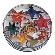 Форма конд. «Звезды» [7шт], сталь нерж., D=125,H=20мм, металлич.