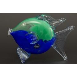 Рыба, цвет - зеленый+синий