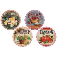 Подставка керамическая (волнистая) Вкуснотеево в ассортименте