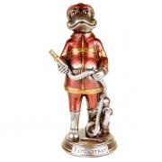 Статуэтка 24,5 см Лягушка пожарный