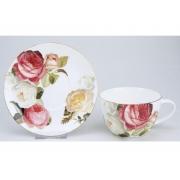 Пара чайная для завтрака, 1 перс, 2 пр, Торжество роз