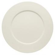 Тарелка мелкая «Пьюрити»; фарфор; D=17см
