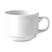 Чашка коф «Монако вайт» 85мл фарфор