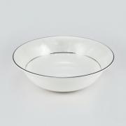 Набор 6 салатников 16,5см «Белый лист»