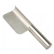 Скребок для чистки стола, сталь нерж., L=220,B=65мм, металлич.