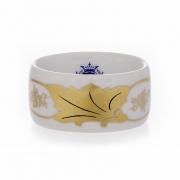 Кольцо для салфетки «Кленовый лист белый»