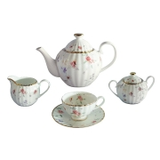 Чайный сервиз из 15 предметов на 6 персон Флёр