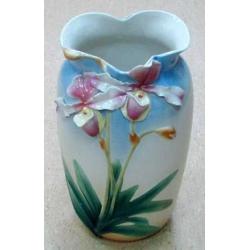 Ваза «Орхидея», фарфор, Австрия