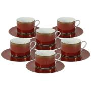 Чайный набор Кармен: 6 чашек + 6 блюдец