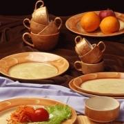 Тарелочка для масла «Хани» 10.25см фарфор