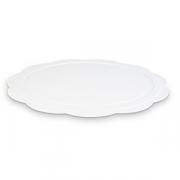 Блюдо фуршетное D=425, H=15мм; белый