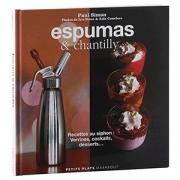 Книга (на франц.) «Espumas & chantilly»