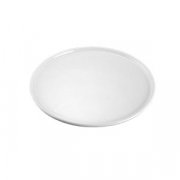 Блюдо для пиццы «Кунстверк», фарфор, D=355,H=10,L=353,B=353мм, белый