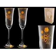 Бокал шампань свадебные