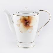 Чайник 1л с крышкой «Бежевая лилия»