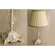 Настольная лампа 43 см (малая) «Палаццо серебро»