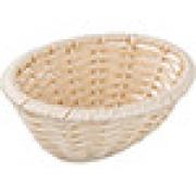 Корзина плетен. для хлеба овал. H=6.5, L=18.5, B=14.5см