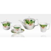 Сервиз чайный «Нимфея» 17 предметов на 6 персон