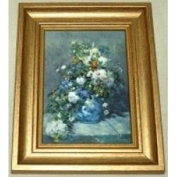 Картина «Цветы» 10х14 см, серия Renoir. Подарочная упаковка