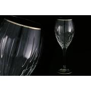 6 бокалов для вина «Пиза серебро»