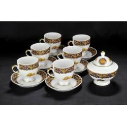 Набор для чая на 6 персон Depos Bacco Blu