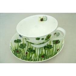 Чашка с блюдцем «Клевер» 0,2 л