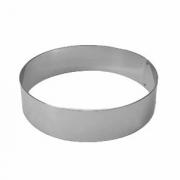 Кольцо кондитерское, сталь нерж., D=16,H=6см, металлич.