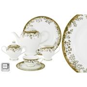 Чайный сервиз Золотой луг 40 предметов на 12 персон