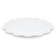 Блюдо фуршетное D=185, H=15мм; белый