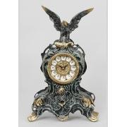 Часы с орлом синий 35х21 см.