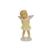 Статуэтка Ангел на облаке(в желтом)
