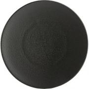 Тарелка мелкая «Экинокс» D=21.5, H=2.5см; черный