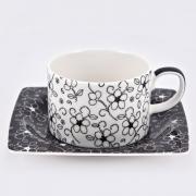 Набор 6 чайных пар «Чёрная Антея»