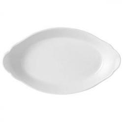 Блюдо овал «Симплисити вайт» 34см
