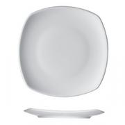 Тарелка квадратная «Опшенс», фарфор, L=27,B=27см, белый