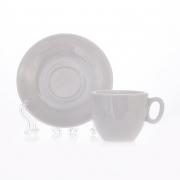 Чашка с блюдцем (70 мл. +11 см. ) «Вариоус Луна»