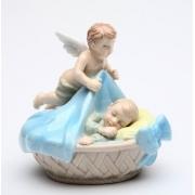 Статуэтка 8,3 см Ангел с мальчиком