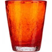 Стакан «Колорс» стекло; 310мл; оранжев.