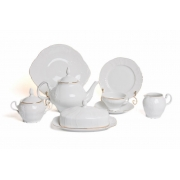 Сервиз чайный «Бернадот белый 311011» на 12 перс. 41 пред