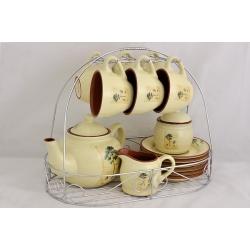 Чайный набор «Сосна» на 6 персон 15 предметов