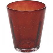 Стакан «Колорс» стекло; 340мл; красный