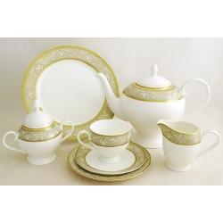 Чайный сервиз на 12 персон 40 предметов «Каролина»